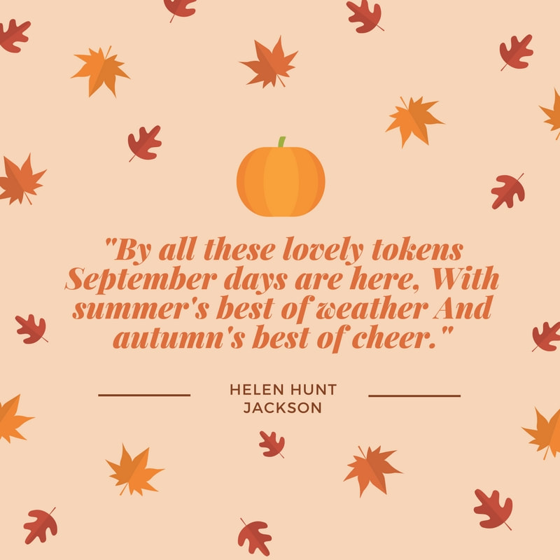 Fall Author Quotes - NORTH MANCHESTER PUBLIC LIBRARY